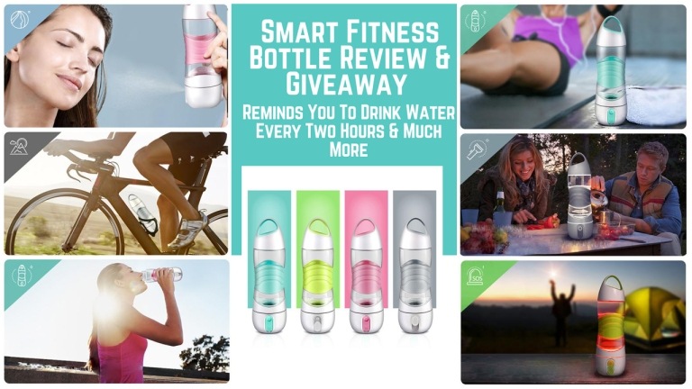 Smart Fitness Bottle Review And Giveaway