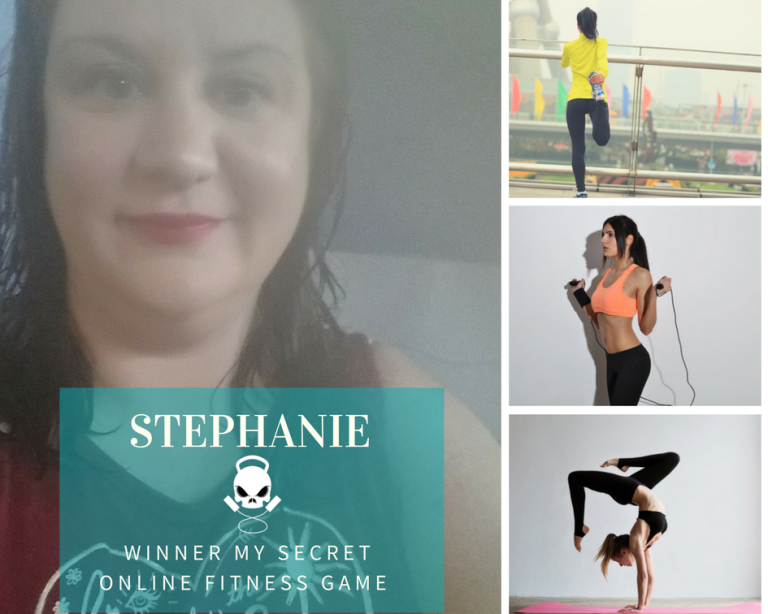 Stephanie B Winner Phase ZERO and ONE Free Mambership My Secret Online Fitness Game