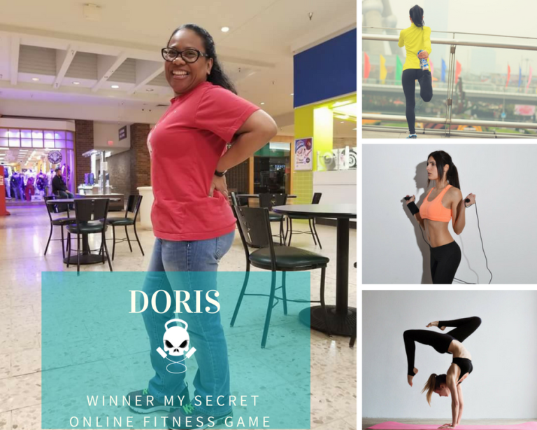 Doris Winner My Secret Online Fitness Game.png